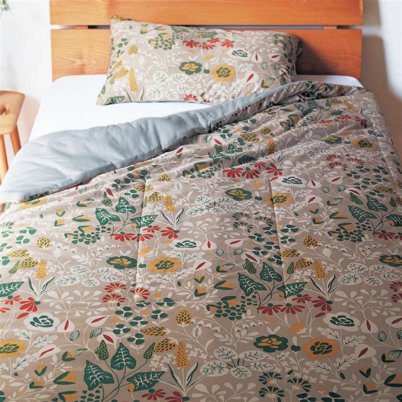 洗える北欧デザインの接触冷感寝具3点セット<シングル> ◆ 洋式シングル 和式シングル ◆