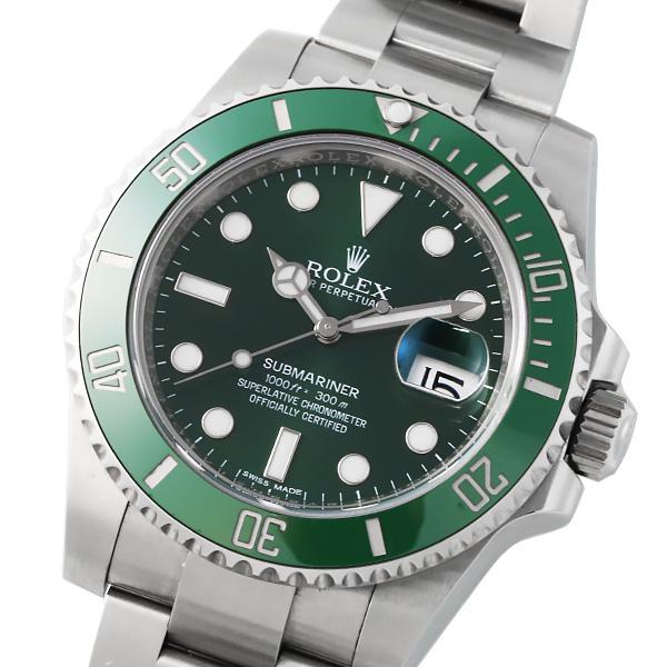 ROLEX ロレックス サブマリーナデイト 116610LV グリーン ランダム品番 ルーレット刻印 【自動巻】【メンズ】【腕時計】【美品】【】【箱・保証書付き】【国際保証書2016年8月記載】