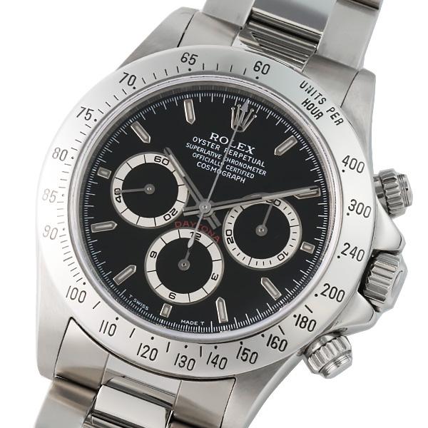 ROLEX ロレックス コスモグラフデイトナ 16520 U番 ブラック【メンズ】【自動巻】【腕時計】【】【希少】【トリチノバ】【箱・保証書付き】