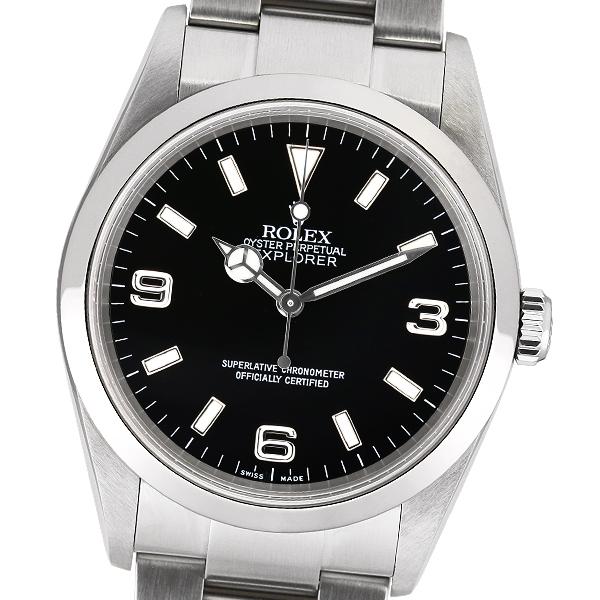 【中古】ROLEX ロレックス エクスプローラー1 114270 F番【自動巻】【メンズ】【腕時計】