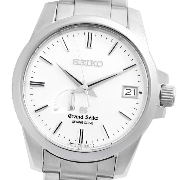 【仕上げ済み】【箱・保証書付き】SEIKO セイコー グランドセイコー スプリングドライブ SBGA015 9R65-0AG0 保証書(2006年6月記載) 【自動巻】【メンズ】【腕時計】