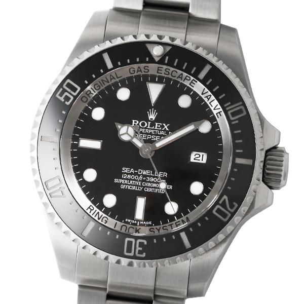 【仕上げ済み】【箱・保証書付き】ROLEX ロレックス シードゥエラー ディープシー 116660 BK M番 【中古】【自動巻】【腕時計】【メンズ】