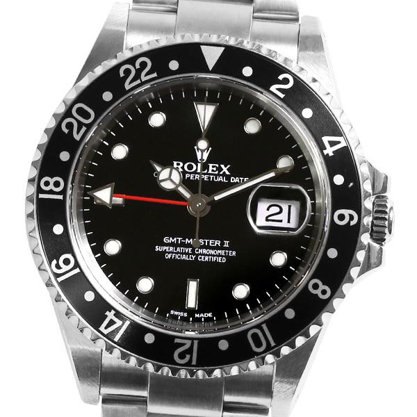 ROLEX ロレックス GMTマスターII 16710 A番 【自動巻】【メンズ】【腕時計】【中古】