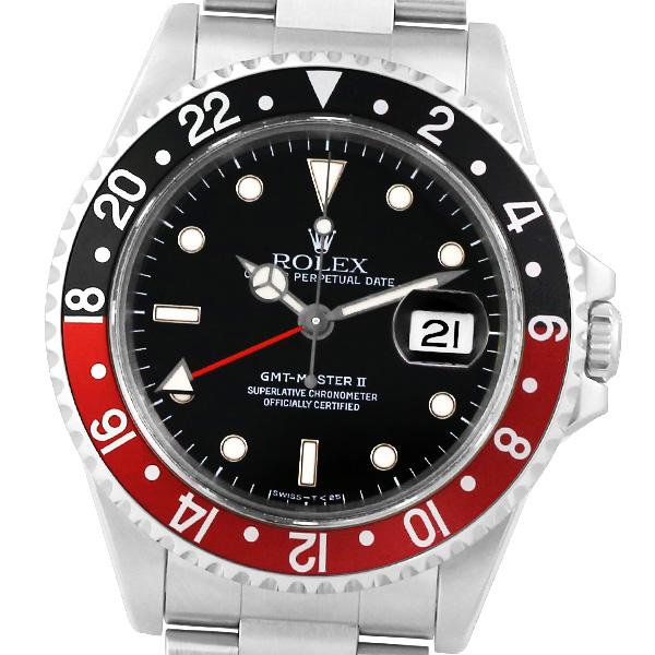 即日発送 【トリチウム】ROLEX ロレックス GMTマスターII 16710 S番 【】【メンズ】【自動巻】【腕時計】, キタグンマグン a6b44260