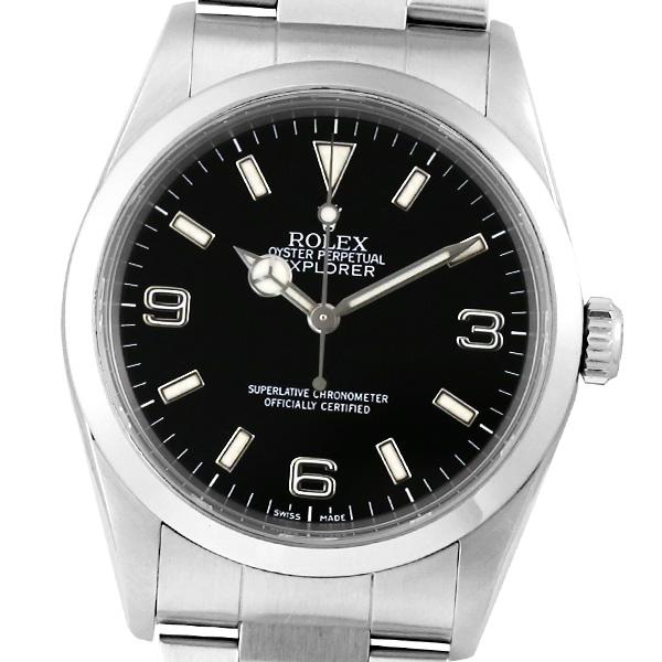 【箱・保証書付き】ROLEX ロレックス エクスプローラー 14270 P番【中古】【自動巻】【腕時計】【メンズ】