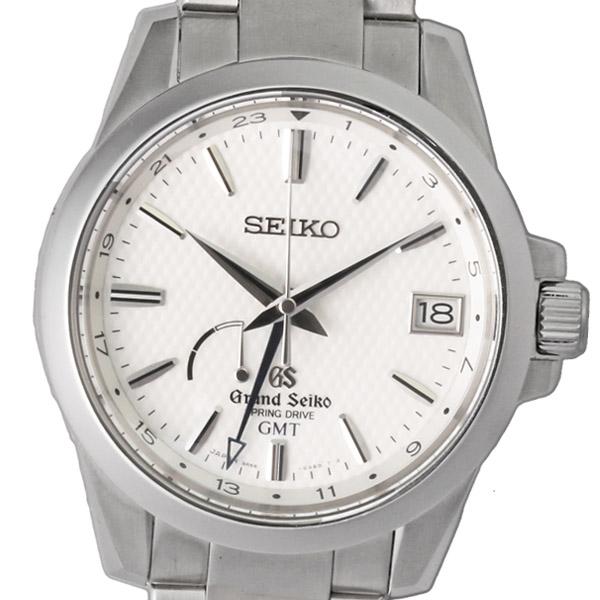 絶対一番安い SEIKO グランドセイコー スプリングドライブ GMT SBGE009 9R66-0AE0 【メンズ】【自動巻】【腕時計】【】【美品】【箱・保証書付き】, アヤベシ 590a77db