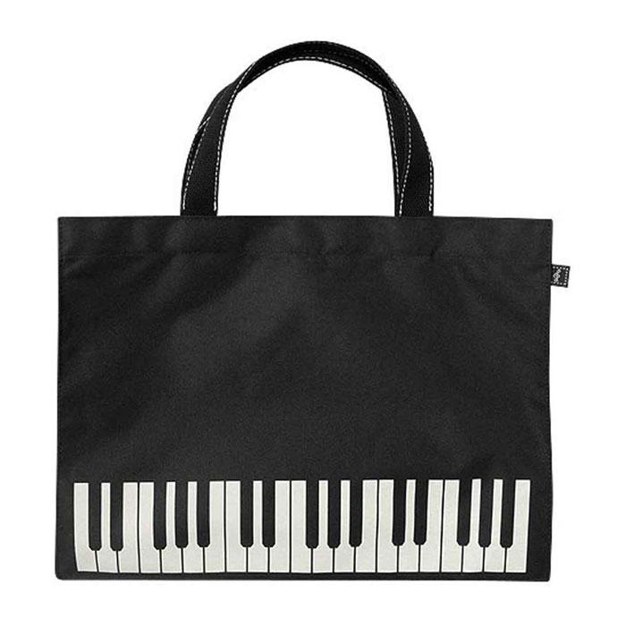 MUSIC FOR LIVINGお子さまから大人まで持ちやすい横型レッスンバッグ ナカノ ミュージックレッスンバッグ ブラック 未使用 定番の人気シリーズPOINT(ポイント)入荷 鍵盤 オブロング BG280KBBL