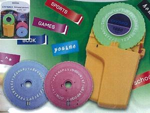 メール便対応可能 期間限定特別価格 ダイモテープ9mm専用 文字盤3枚 テープ1巻付属 ダイモ ラベルテープライター DM1880 M1880 激安挑戦中 DYMO