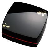 メール便対応可能 評価 大切なシーンで優雅に捺印 専門店 速乾約3秒 印面40号 漆黒 と 真紅 の2カラー 全6種 デザイン朱肉 マックス 黒 SA90180 桜 SA-4004PD MAX Kサクラ