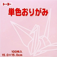 도요 단색 종이접기 「벚꽃」064122 15 x15cm 100장
