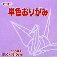 도요 단색 종이접기 「우스후 글자」064132 15 x15cm 100장