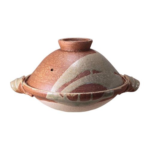 土楽窯の土鍋 文福鍋一尺