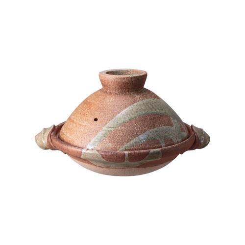 土楽窯の土鍋 文福鍋八寸