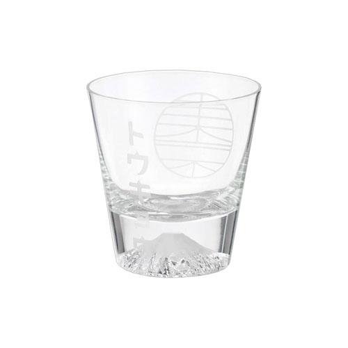 田島硝子 手づくり江戸硝子 TOKYO富士山グラス(Fujiグラス) ロックグラス 【あす楽対応 】