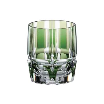 カガミクリスタル ロックグラス 色被せマイグラスコレクション『竹の膳』