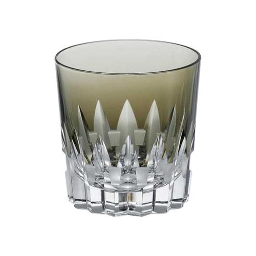 カガミクリスタル ロックグラス 黒
