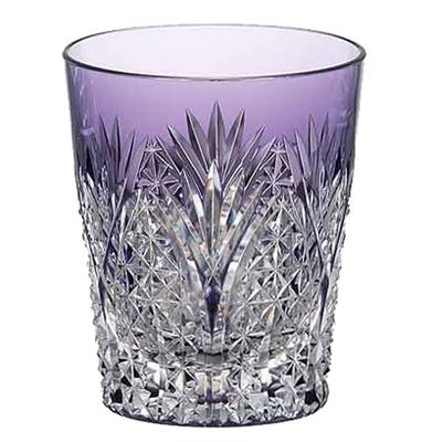 カガミクリスタル ロックグラス 江戸切子(笹っ葉に麻の葉 紋) 焼酎グラス