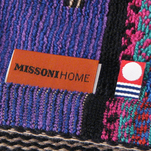 MISSONI HOME Missoni Stolica wash towel blue