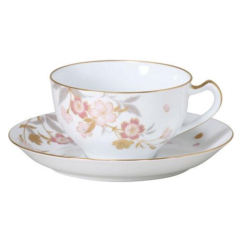 大倉陶園 桜カップ&ソーサーシリーズ 第1回「糸桜」