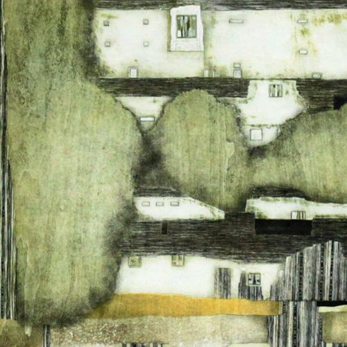 人気カラーの 岩切裕子 岩切裕子 額付き木版画 『closed 額付き木版画 place place -ベケットによせて-』(2007年), コノウラマチ:5c8e108c --- mirandahomes.ewebmarketingpro.com