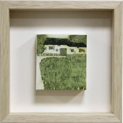岩切裕子 額付き木版画 『summer house』 2008年 ボックスフレーム仕様