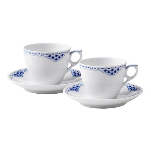 ロイヤル コペンハーゲン プリンセス コーヒーカップ&ソーサー ペア