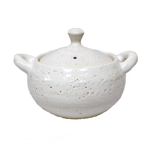 土鍋 人気商品 一人用 二人用 長谷製陶 長谷園 絶品 伊賀土鍋 伊賀焼 白丸