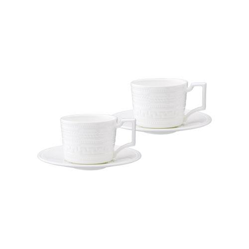 ウェッジウッド インタグリオ エスプレッソコーヒーカップ&ソーサー ペアギフトセット