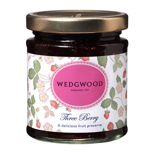 Wedgwood jam wild strawberry three Berry jam