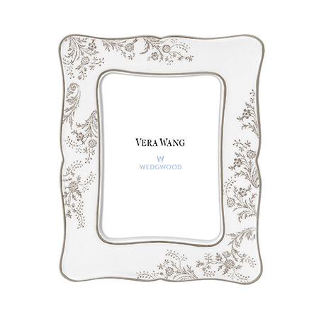 vera wang wedgwood won vera lace platinum picture frames
