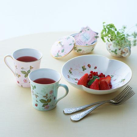 Wedgwood wild strawberry pastel mug (Pink)