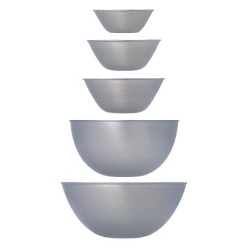 柳宗理デザインの調理器具 ステンレスボール 5個セット(13cm/16cm/19cm/23cm/27cm)