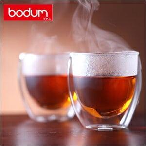 ボダム パヴィーナダブルウォールグラス2個セット グラス【A5】