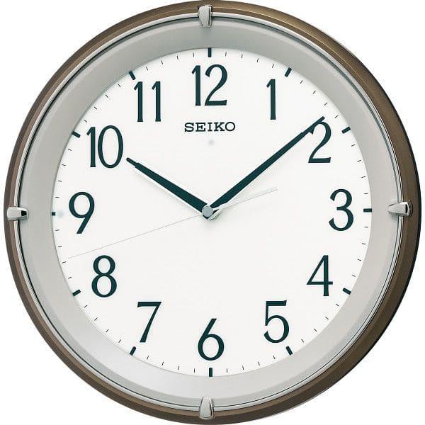 セイコー 文字板自動点灯電波掛時計(KX203B)(送料無料)/ ギフト 引き出物 出産お祝い 出産祝い 結婚お祝い 結婚祝い 内祝い お返し ご挨拶 引っ越し 香典返し お礼