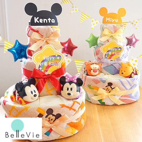おむつケーキ ディズニー KIDEA ×ゴーグリッパーズおむつケーキ 男の子 女の子 出産祝い