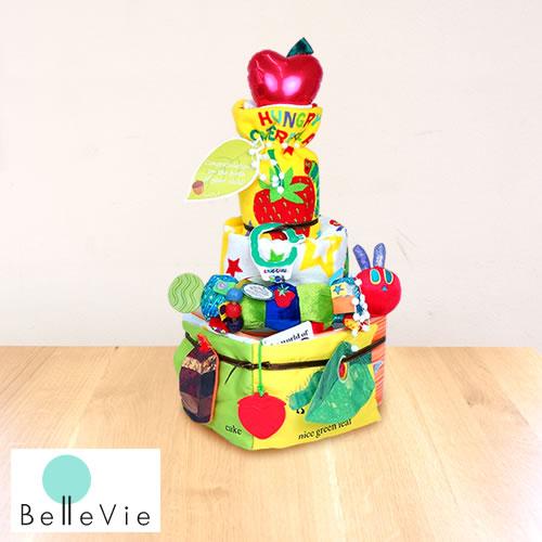 【おむつケーキ】はらぺこあおむしハンギングトイおむつケーキ 出産祝い パンパース使用 男の子 女の子 キャラクター