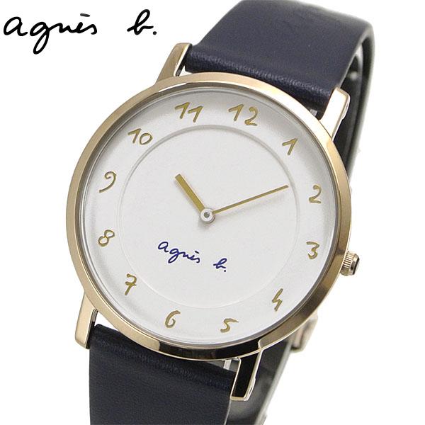 アニエスベー agnes b. 腕時計 レディース マルチェロ ネイビー