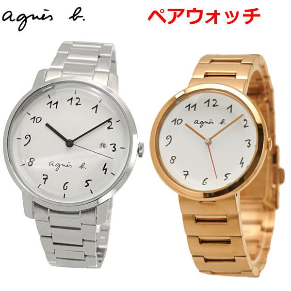アニエスベー agnes b. ペアウォッチ(2本セット) 腕時計 38mm & 36mm メンズ/レディース マルチェロ Marcello BG8005X1 BH8028X1