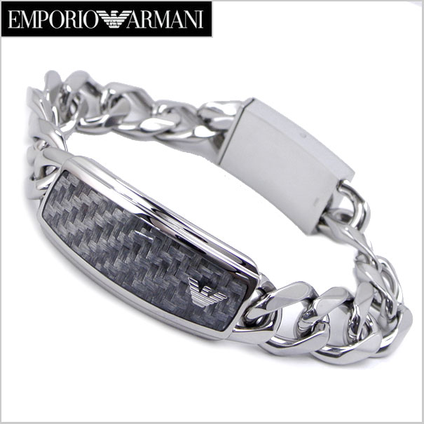 エンポリオ アルマーニ EMPORIO ARMANI ブレスレット/ステンレス・メンズ エンポリオアルマーニ EGS168804019【送料無料】