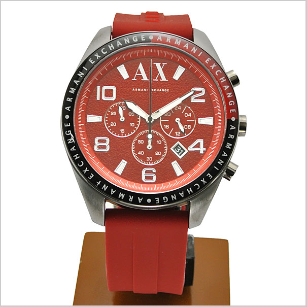 EXCHANGE chronograph mens watch red letter Edition Armani Exchange AX1252