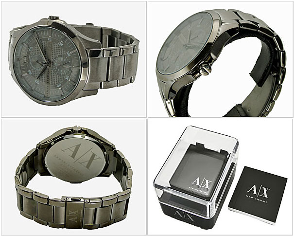 ARMANI EXCHANGE mens watch gunmetal AX2119