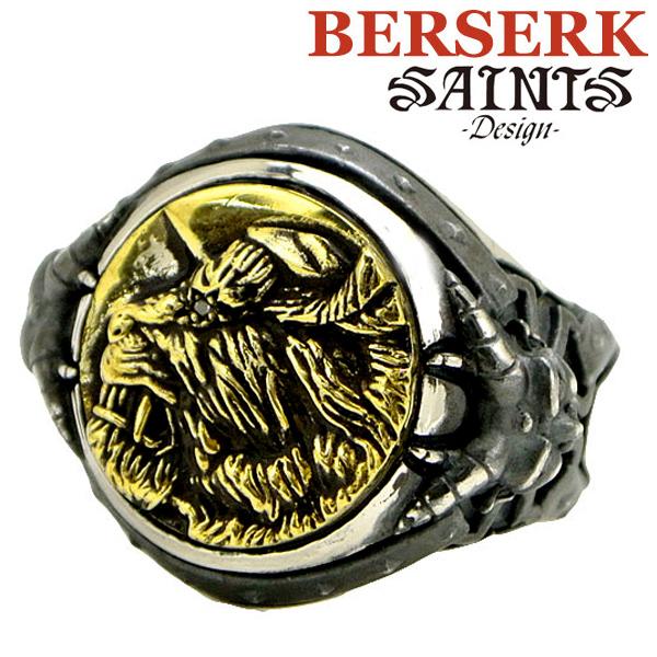 【SAINTS Design セインツ デザイン】BERSERK ベルセルク ゾッドシルバーリング BSS-R-03(受注生産モデル)正規品