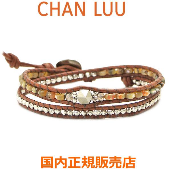 チャンルー CHAN LUU クリスタルビーズミックス 2連ラップブレスレット レディース チャンルー CHANLUU BS-5595 ABALONE MIX