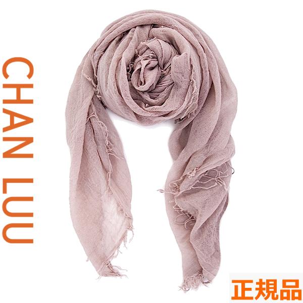 チャンルー CHAN LUU カシミヤシルク 大判ストール/スカーフ チャンルー CHANLUU BRH-SC-140 ADOBE ROSE