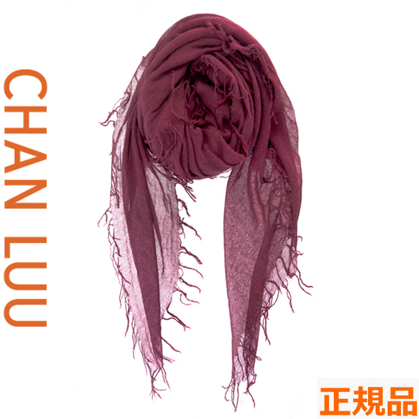 チャンルー CHAN LUU カシミヤシルク 大判ストール/スカーフ チャンルー CHANLUU BRH-SC-140 FIG