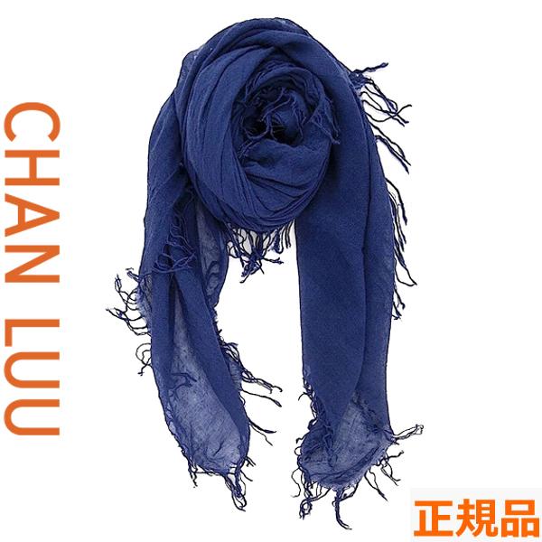 チャンルー CHAN LUU カシミヤシルク 大判ストール/スカーフ チャンルー CHANLUU BRH-SC-140 MEDIEVAL BLU