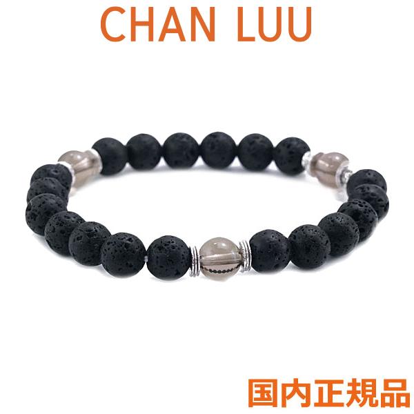 チャンルー CHANLUU セミプレシャスストーン パーツミックス ストレッチ ブレスレット ブラックミックス BSM-1775 BLACK MIX