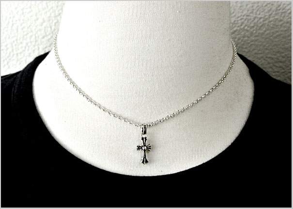 Chrome (CHROME HEARTS) CH cross babyfaced charm (pendant)