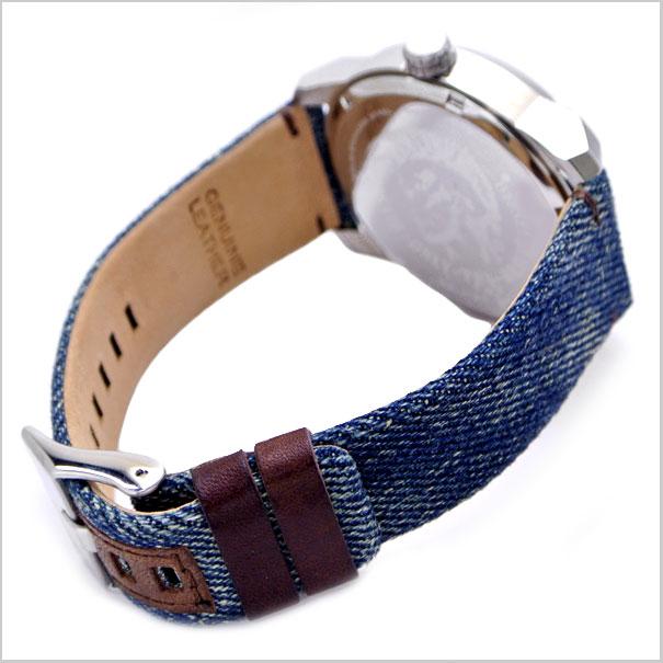 柴油DIESEL手表臂酒吧ARMBAR/蓝色粗斜纹布柴油DZ1769