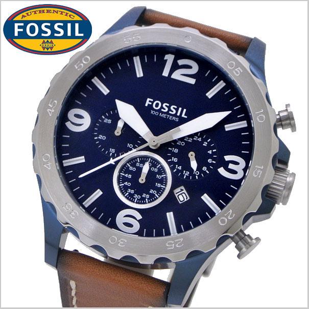 フォッシル FOSSIL 시계 남성용 네이트 NATE 크로 노 그래프 フォッシル FOSSIL JR1504